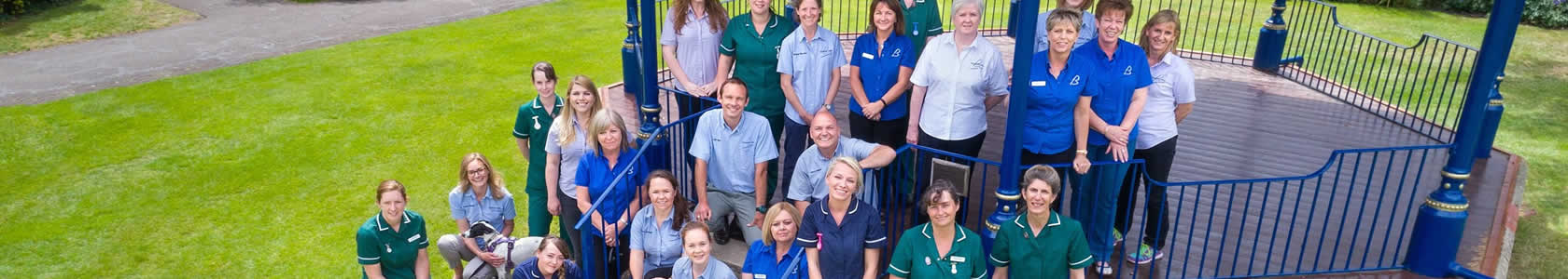 Staff at Bicester vets