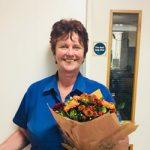 receptionist Debbie leaves Bicester vets