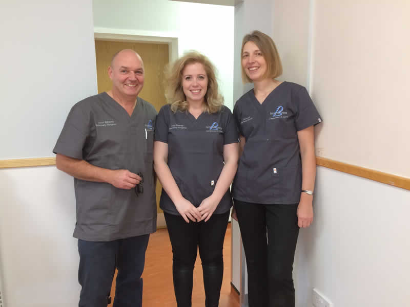 New consulting room at Bicester vets