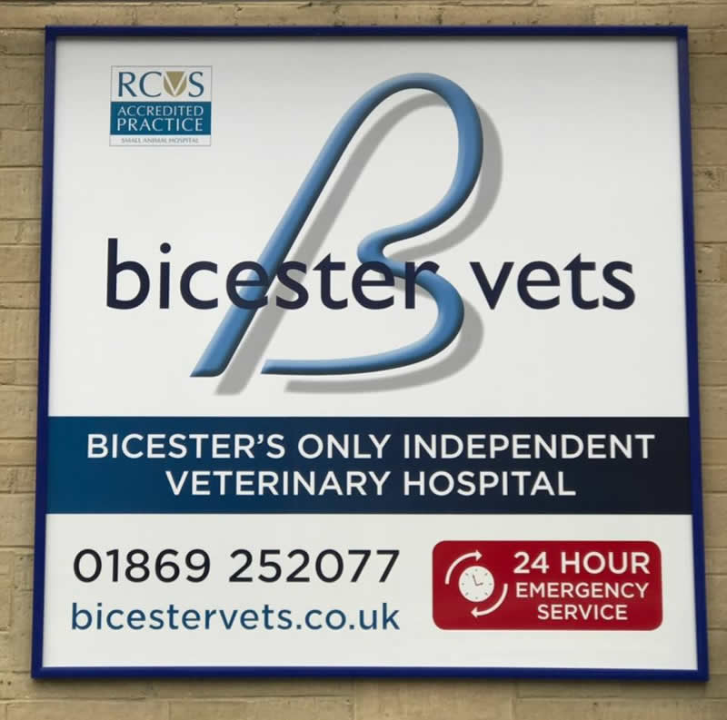 Bicester vets sign