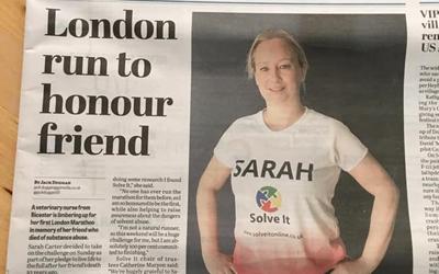 Congratulations Sarah!